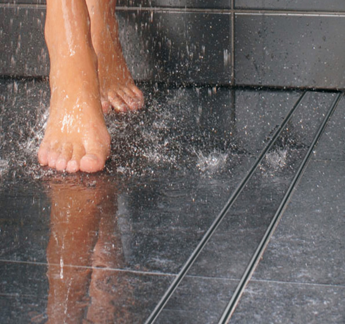 How to install tile floor in bathroom - Tips For Creating A Wet Room Tile Mountain