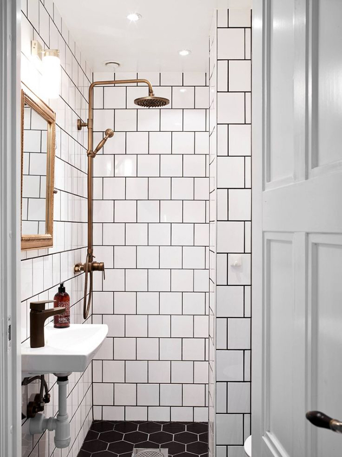 black tile paint for bathrooms | szolfhok