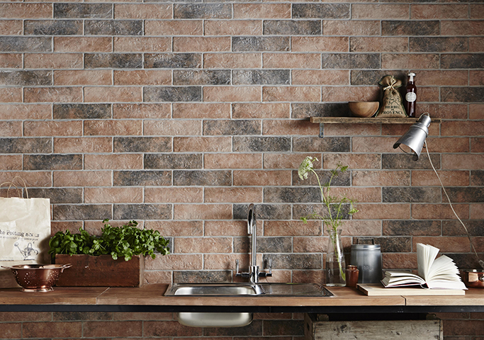 Tile Without Grout Brick Tiles: Exposed Brick Without the Mess! - Tile Mountain