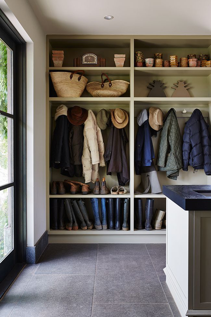 Mudroom Storage Uk : Inspiration for boot rooms and mudrooms tile mountain