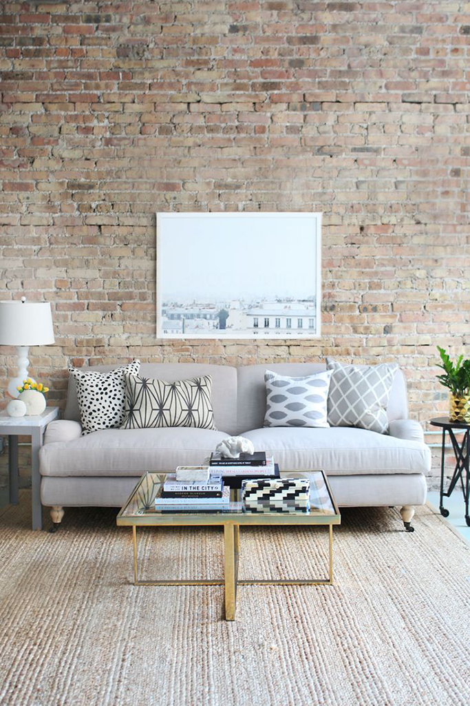 living room brick wall brick tiles exposed brick without the mess tile mountain 15993