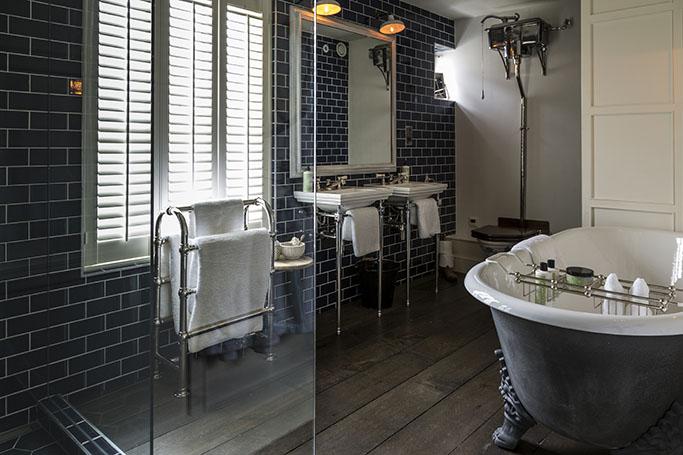 Creating A Victorian Bathroom Tile Mountain