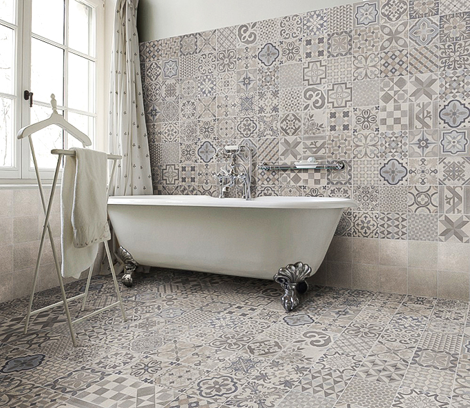 How To Mix Patterns Tile Mountain