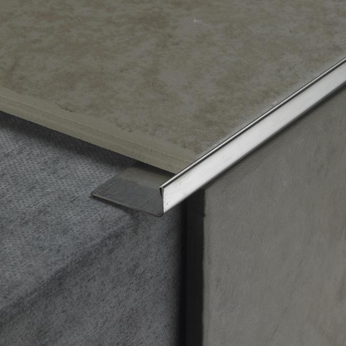 Kitchen Worktop Aluminium Quadrant