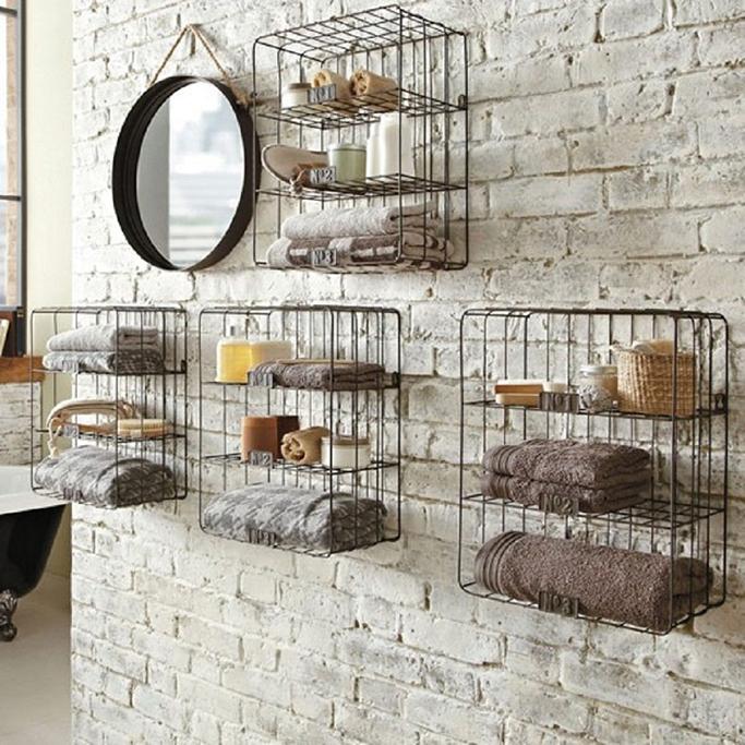 5 Creative Bathroom Storage Ideas