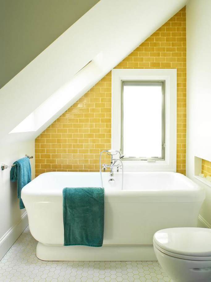 Dulux colour of the year 2016 cherished gold tile mountain for Mustard bathroom accessories uk