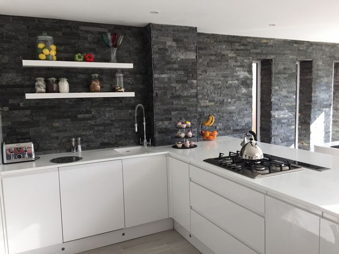How To Grout Kitchen Tiles Youtube
