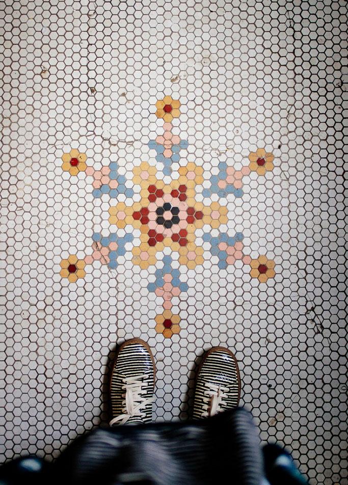 Creative tile layouts tile mountain for Creative floors