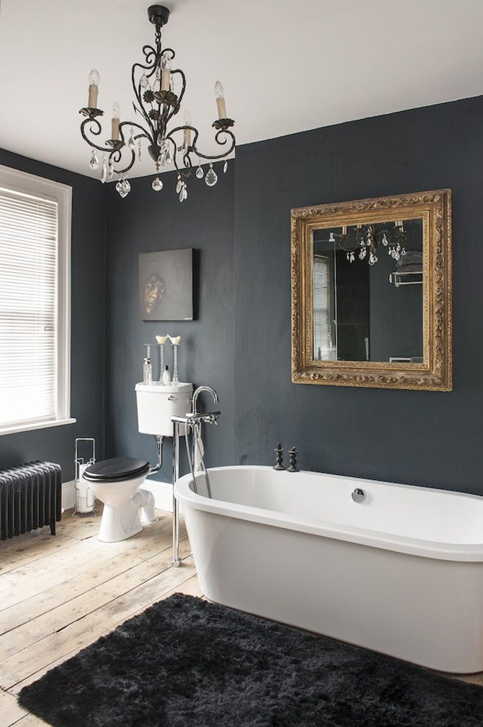 Inspiration for Black Bathrooms - Tile Mountain