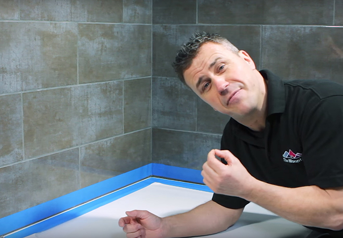 the easiest way to silicone a bath or shower tray tile classi seal shower tray and bath sealant