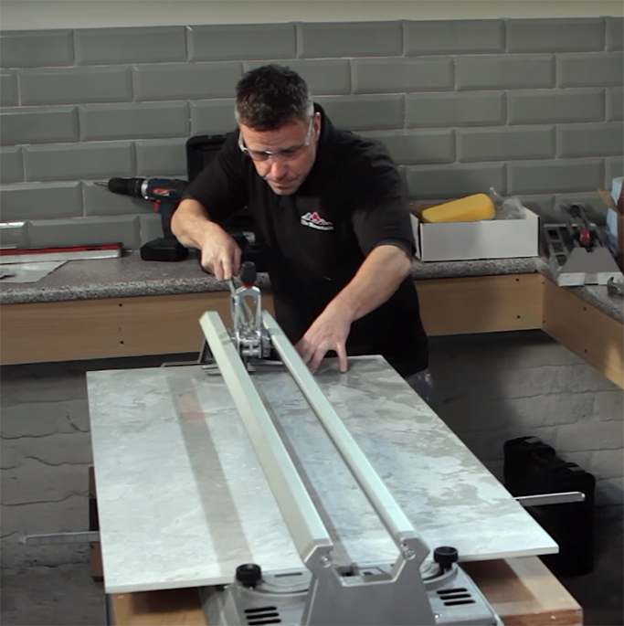 How to Cut Porcelain and Ceramic Floor Tiles - Tile Mountain