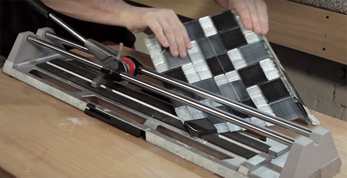 How to cut porcelain and ceramic floor tiles tile mountain for How to cut ceramic floor tile