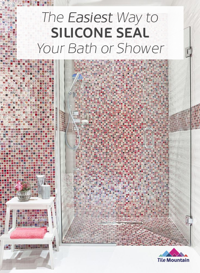 the easiest way to silicone a bath or shower tray tile shower tray indeed increase the efficiency of a bathroom