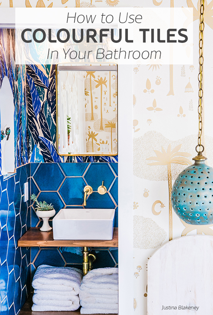 How to use colourful tiles in your bathroom tile mountain for Bathroom tile trends 2016 uk