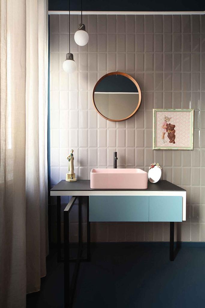 Vintage Bathroom Tile Colors