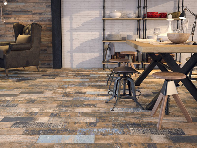 rustic-kitchen-floor-tiles-wood-effect - tile mountain