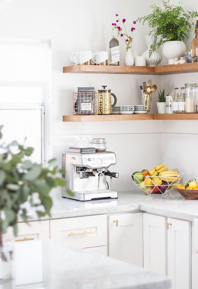 Inspiration For Styling Open Kitchen Shelves Tile Mountain
