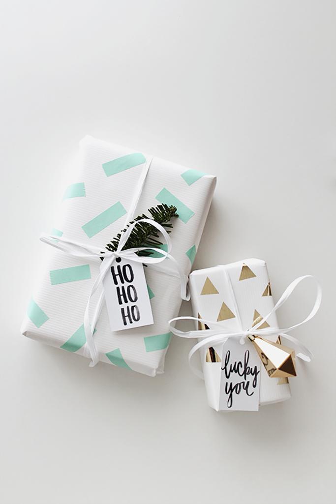 10 Easy Diy Christmas Gift Wrapping Ideas Tile Mountain