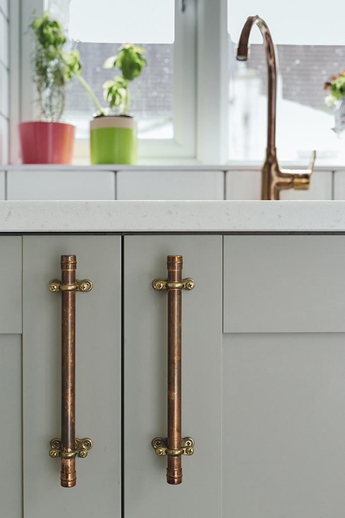 Copper Kitchen Handles Uk