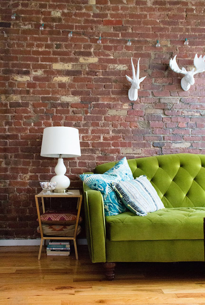 Green Couch Mountain Decor Living Room: Pantone's COTY Greenery And Alternative Greens We Think