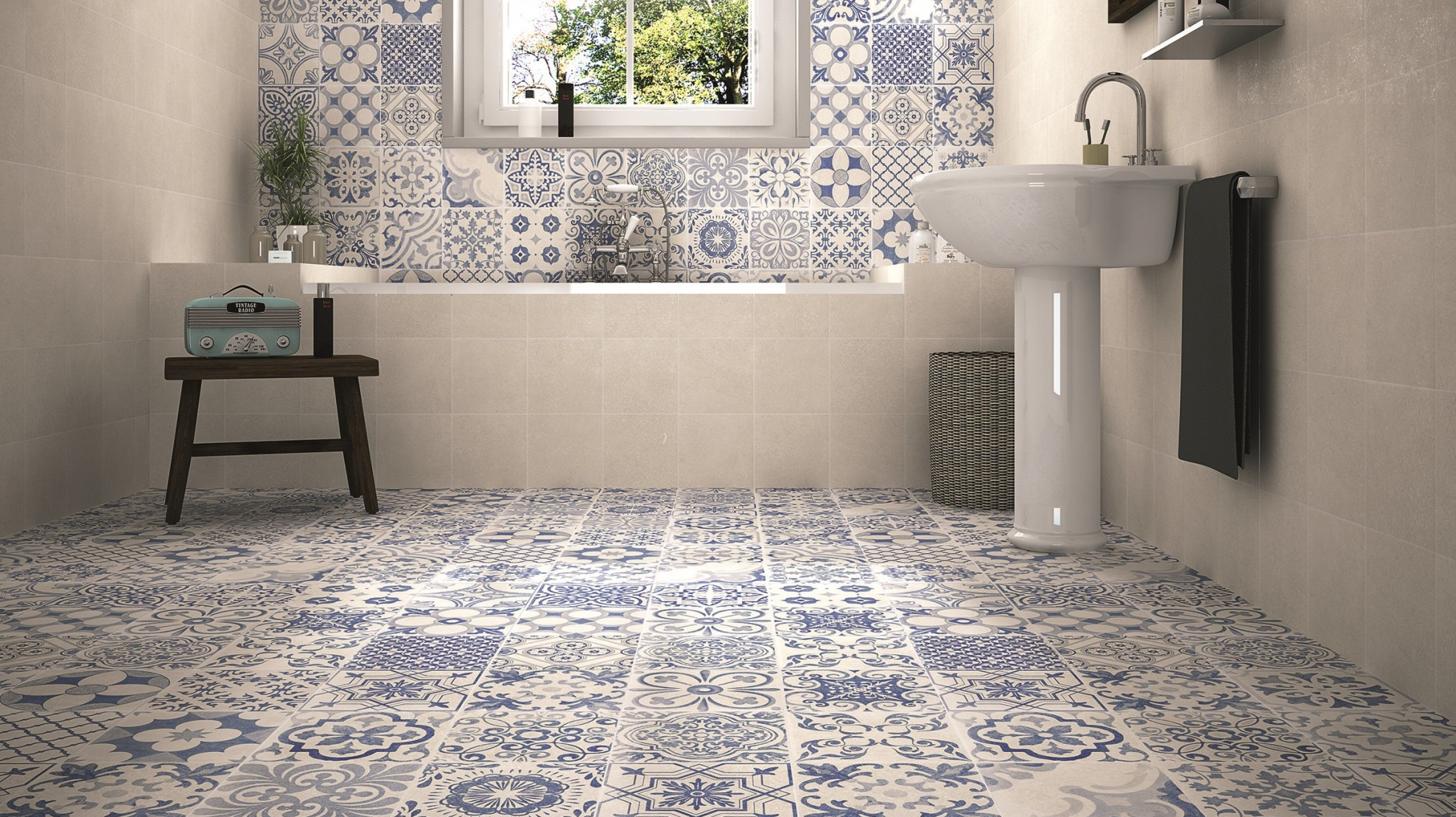 Patterned Floor Tiles To Turn Heads Tile Mountain