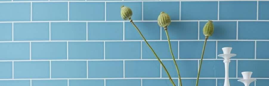 Blue Kitchen Wall Tiles