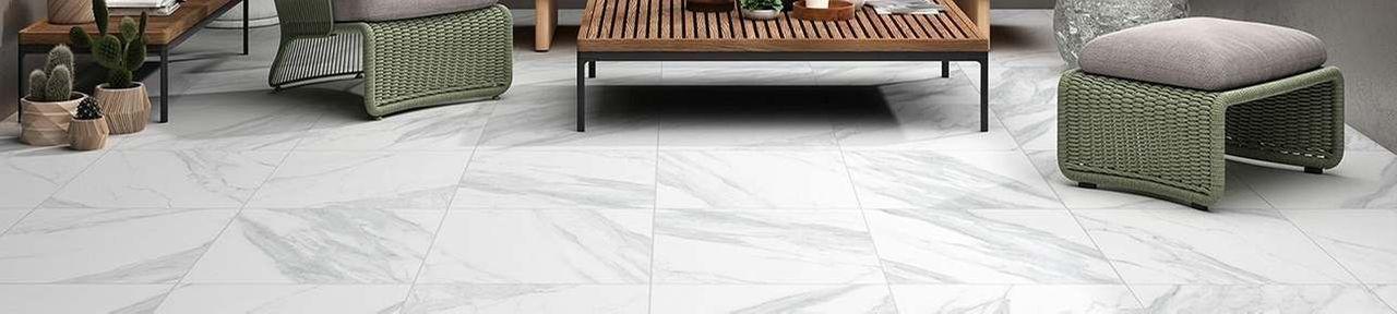 Carrara Marble Outdoor Slab