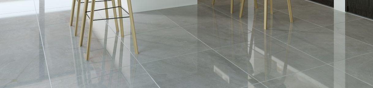 Large Grey Floor Tiles