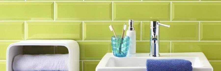 Green Bathroom Wall Tiles