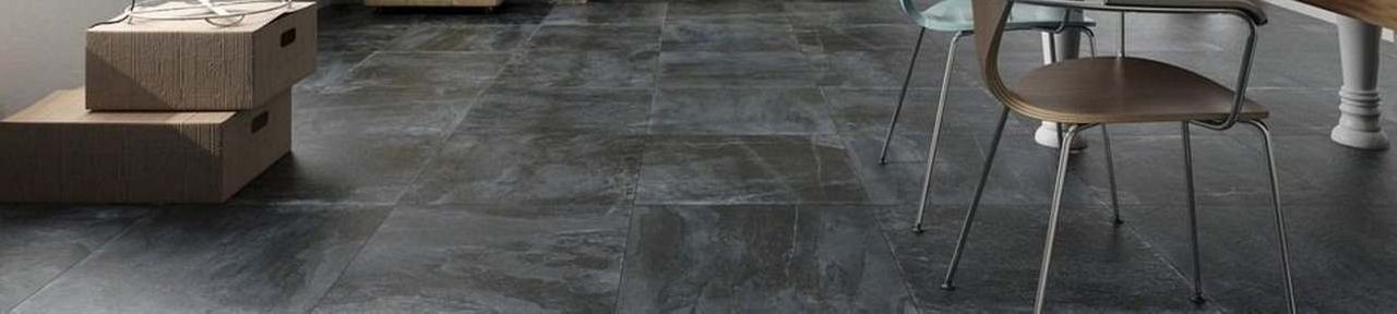 Large Format Natural Stone Effect Floor