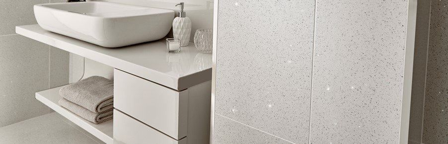 White Quartz Floor Tiles