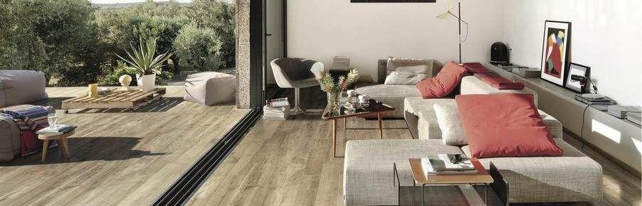 Brown Kitchen Floor Tiles