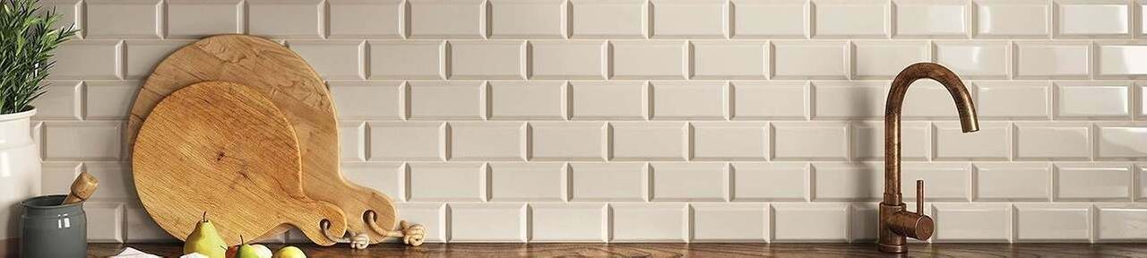 Cream Kitchen Wall Tiles