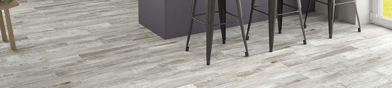 Grey Wood Effect Tiles
