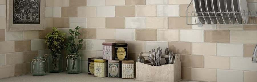 Cream Brick Tiles