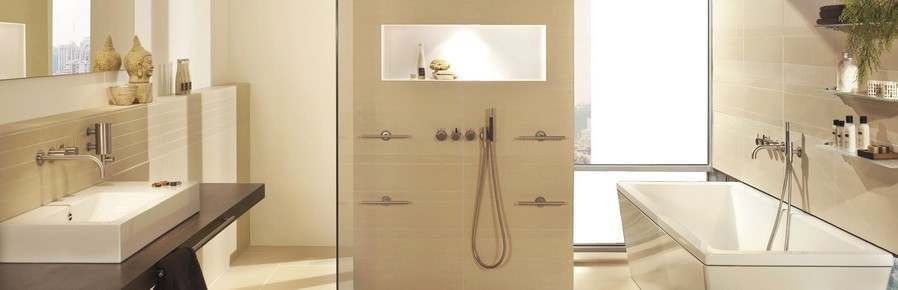 Ivory Bathroom Tiles