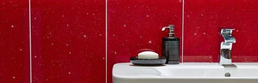 Red Bathroom Wall Tiles
