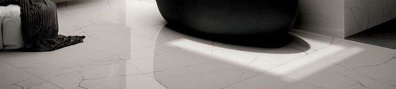 White Polished Porcelain 600x600