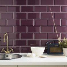 Purple Wall Tiles
