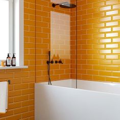 Orange Wall Tiles