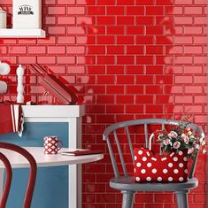 Red Wall Tiles