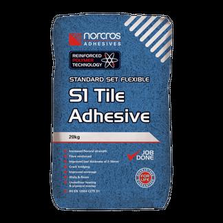 Standard Set Porcelain Grey S1 Tile Adhesive