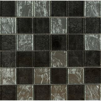 Hong Kong Silver Mix Glass Mosaic 48x48