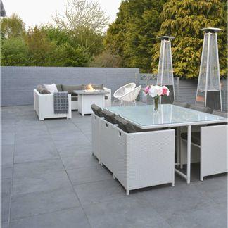 Surface Outdoor Mid Grey Porcelain Slab