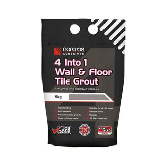 4 Into 1 Wall & Floor Tile Grout - Arctic White -5Kg