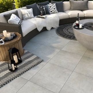 Beton Soft Mid Outdoor Slab Tiles