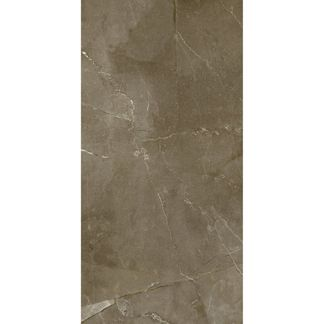 Anubis Dark Brown Gloss Marble Effect Wall Tile