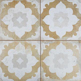 Clay Blossom Floor Tile
