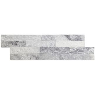 Grey Sparkle Split Face Mosaic