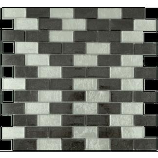 Hong Kong Silver Mix Glass Mosaic 23x48